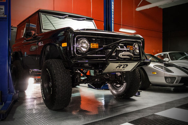 Ford Bronco on TuffShield