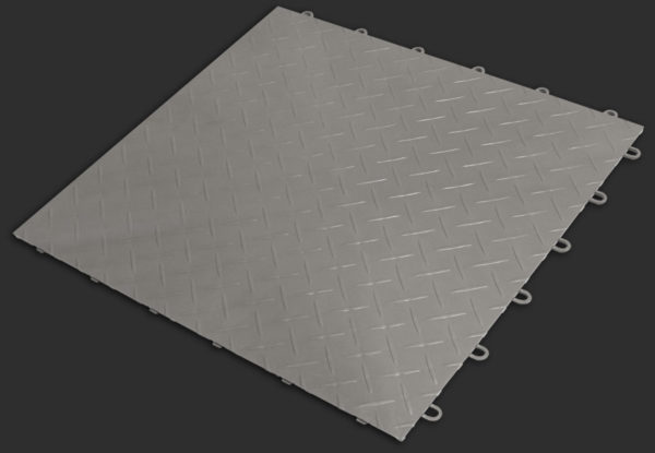 Chalk RaceDeck XL garage flooring tile