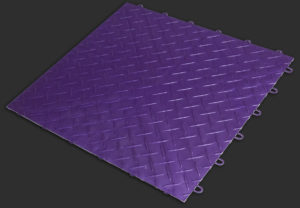 Royal-Purple RaceDeck XL garage flooring tile