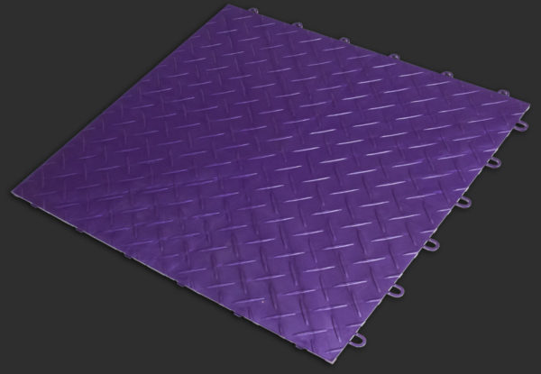 Royal-Purple RaceDeck XL garage flooring tile