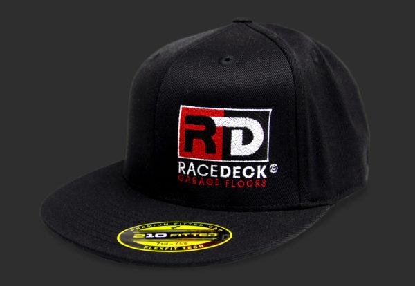 RaceDeck Logo Flat Brim Hat