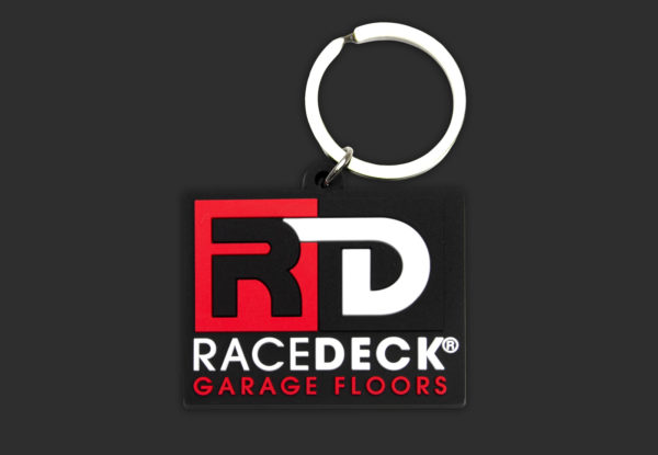 RaceDeck Garage Floors Keychain
