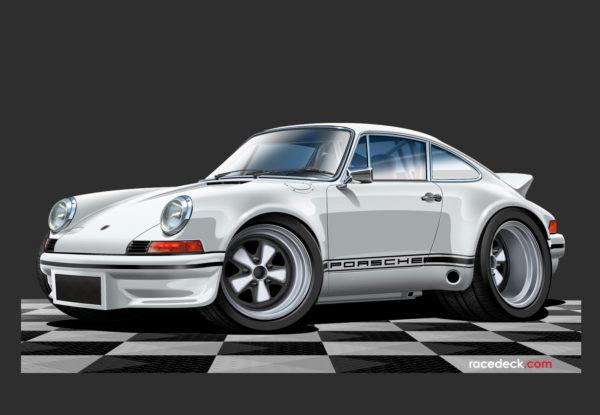 Porsche 911 RS Sticker